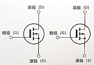 mos管G、S、D、分别代表是什么