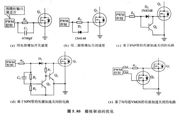 提高电路的开关速度有几种简单技术措施?