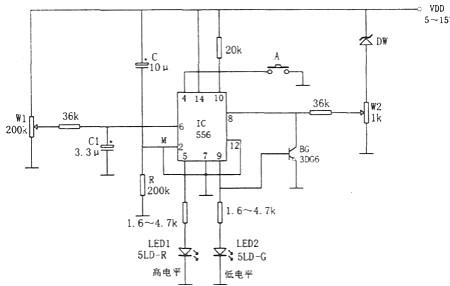 报警器电路图-报警器的结构组成详解以及原理详解等