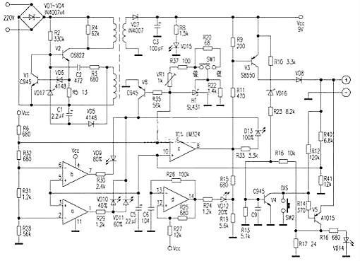 手机充电器电路图