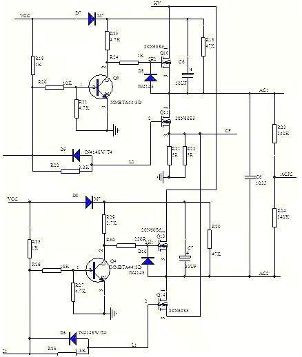 反相输入端接输出电压,当电压过低,检测分压后电压低于2.
