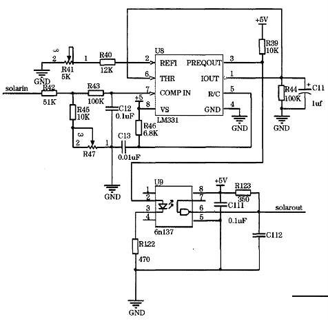 太阳能路灯电路图设计方案 太阳能路灯电路图大全 kia