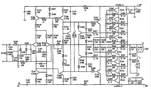 2300功放电路图