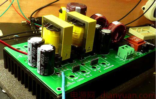 1000W逆变器电路图