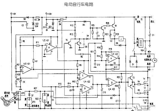 电动自行车电路图