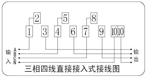 电表接线图