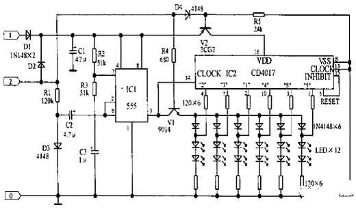 摩托车充电器电路图