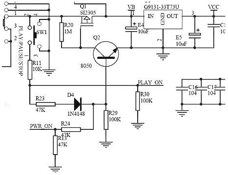 最简单的mos管开关电路图