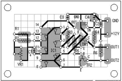 场效应管逆变器电路图