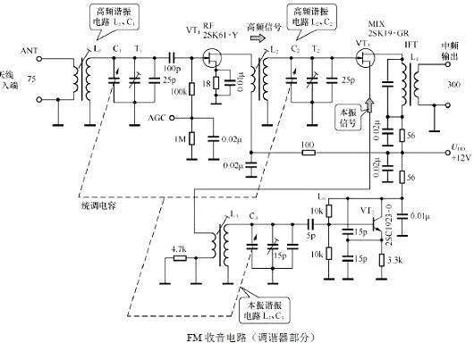 场效应管放大电路图