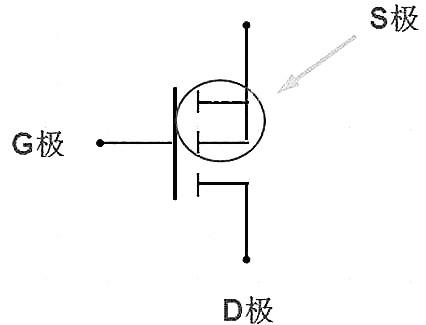 场效应管管脚图接线图