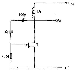 双场效应管振荡电路图
