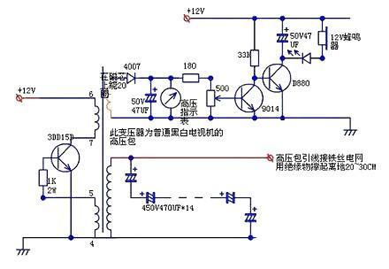 场管自激逆变器电路图-场管自激逆变器电路图自制设计