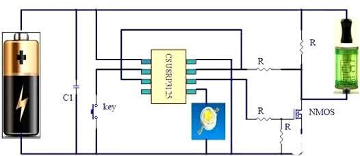 电子烟 MOS管