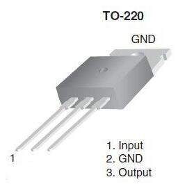 三端稳压管7805