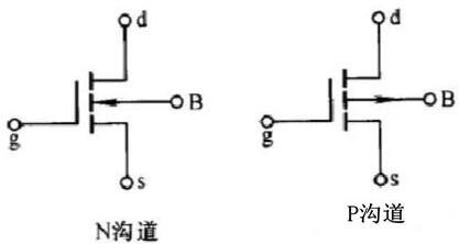 增强型nmos德电路符号