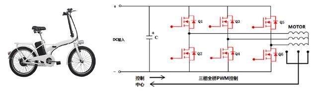 电动自行车 MOS管