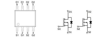KPE4403A2 -5.0A/-30V