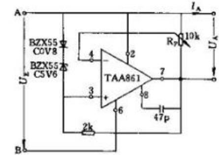 稳压电源电路图(二) 上图为简单稳压电路,由限流电阻rs和稳压二极管d