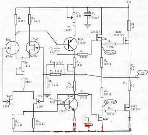 场效应管放大电路图原理-场效应管放大电路识图方法详解-kia mos管