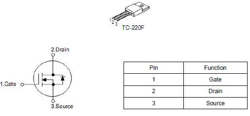 10n60场效应管参数 9.5A/600V