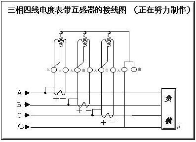 380三相4线电表接线图-三相4线电表接线方法图解-kia