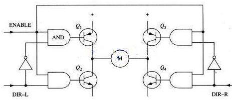 mos管h桥驱动电路图