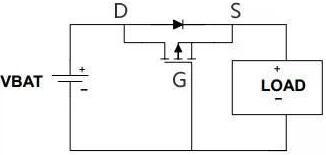 mos管防反接电路