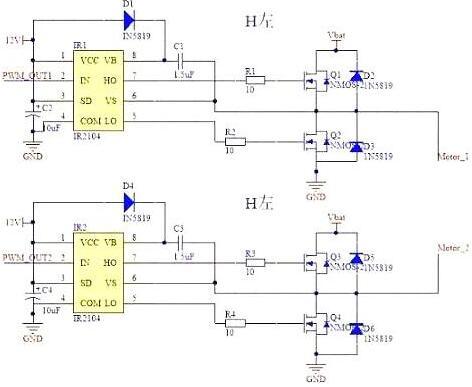 单向运转控制电路实物图
