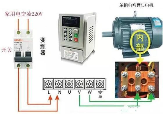 380v电机如何转接成220v与电机如何接线方法及步骤详解-kia mos管