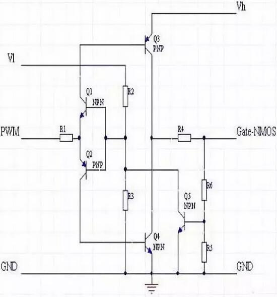 mosfet驱动电路结构及自举升压结构双电压mosfet驱动电路解析-kia mos