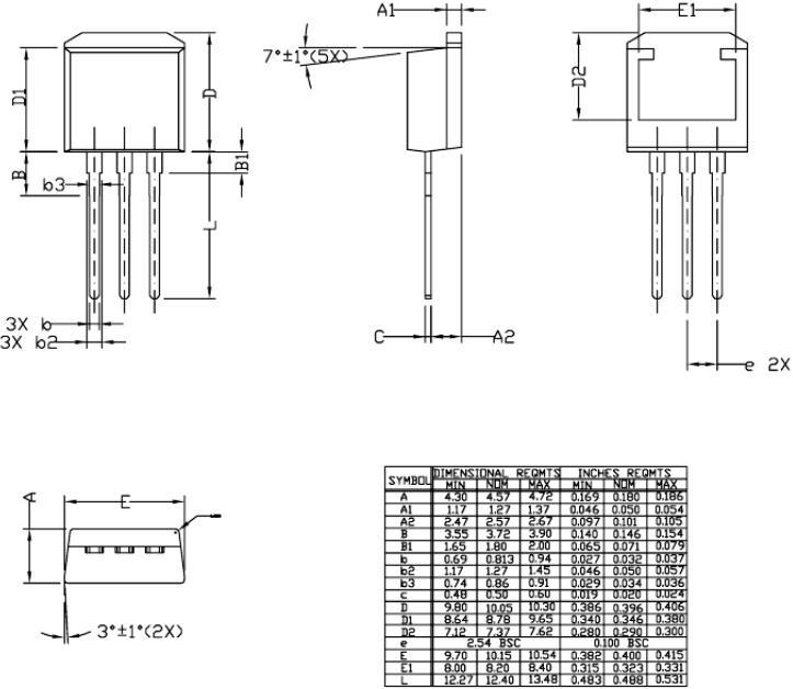 插件MOS管
