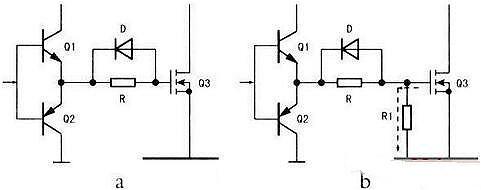 mos管栅极电阻的作用