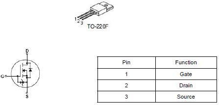 9N90,9A/900V,MOS管