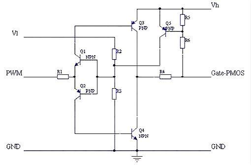 6 应用实例 在笔者设计的48V50A电路中采用双晶体管正激式变换电路,其开关管采用IXFH24N50,其参数为:  根据如前所述,驱动电压、电流的理想波形不应该是一条直线,而应该是如图6所示的波形。实验波形见图7。  7、结论 本文详细介绍了MOS管的电路模型、开关过程、输入输出电容、等效电容、电荷存储等对MOS管驱动波形的影响,及根据这些参数对驱动波形的影响进行的驱动波形的优化设计实例,取得了较好的实际效果。 影响MOSFET开关速度除了其本身固有Tr,Tf外,还有一个重要的参数:Qg (栅极总静电荷