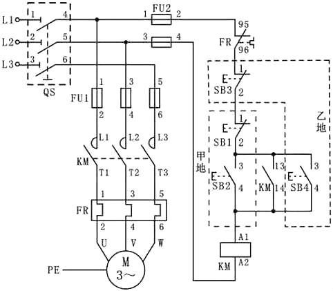 首页 新闻中心 公司新闻  (五)电工电路原理图-双重联锁正,反转控制线
