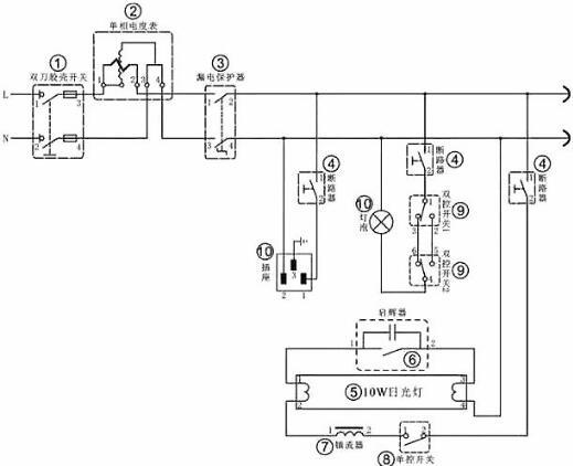 盘点8大经典电工电路原理图-电工千万别错过 值得收藏-KIA MOS管