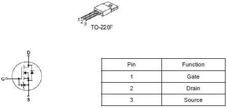 高压MOS管,9N90,9A/900V