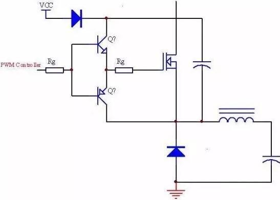 MOSFET栅极应用电路