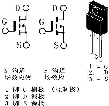 irf740场效应管脚接法