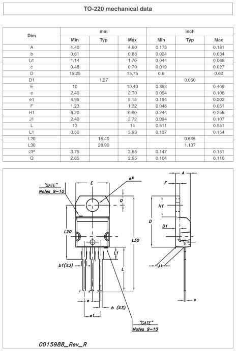 场效应管80n70参数 TO-220封装规格书-场效应管MOS管供应商-KIA MOS管
