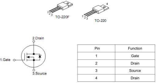 充电器MOS管,KNX4660A,7A/600V