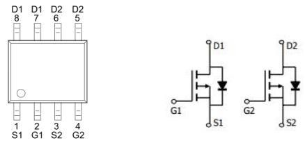 MOS管KPE4403A2,-5.0A/-30V