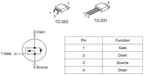 MOS管,KNX6610A,15A/100V