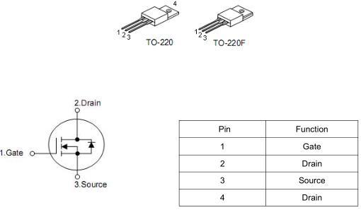MOS管,KNX6650A,15A/500V