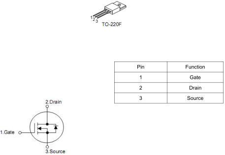 MOS管,KNX4850A,9A/ 500V