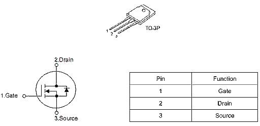 MOS管,KNH8150A,30A/500V