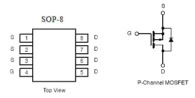 MOS管,KPE4703A替代P06P03LVG,锂电池/智能医疗