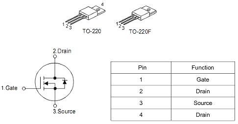 MOS管,7160,KNX7160A,20A/600V