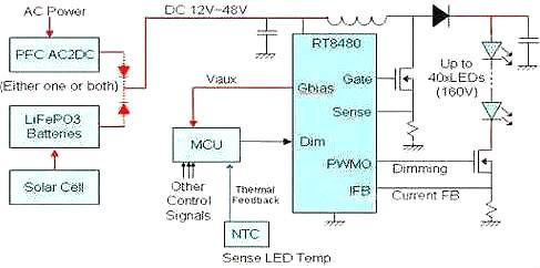 LED路灯,电源